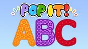 Pop It Alphabet: Capital Letters