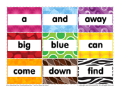 Pre-K Sight Words: A to Find