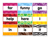 Pre-K Sight Words: For to It
