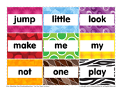 Pre-K Sight Words: Jump to Play