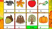 Spelling Cards: Autumn