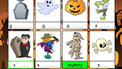 Spelling Cards: Halloween