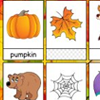 Word Cards: Autumn