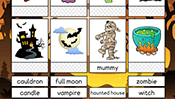 Word Cards: Halloween