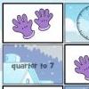 Math Memory Clocks: Winter Edition