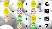 Math Riddles: Easter