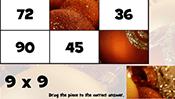 Math Tiles: Christmas Multiplication