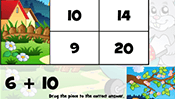 Math Tiles: Easter Addition and Subtraction