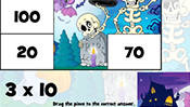 Math Tiles: Halloween Multiplication