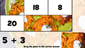 Math Tiles: Hanukkah Addition and Subtraction