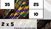 Math Tiles: Kwanzaa Multiplication
