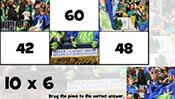 Math Tiles: St. Patrick's Day Multiplication