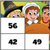 Math Tiles: Thanksgiving Multiplication