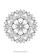 mandalas coloring pages ebook star mandala