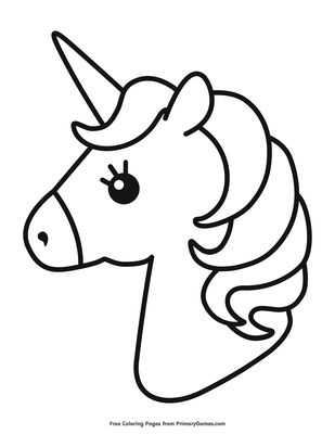 Cute Unicorn Coloring Page Coloring Page Free Printable Pdf From