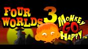 Monkey GO Happy Four Worlds 3