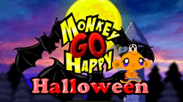 Monkey GO Happy Halloween PrimaryGames