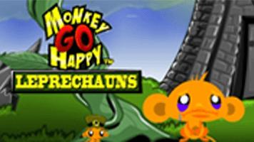 monkey go happy leprechauns   primarygames   play free