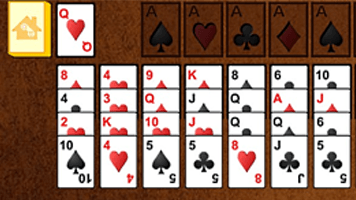 Forty Thieves Solitaire Free Online Games at PrimaryGames