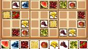 Fruit Sudoku Puzzle