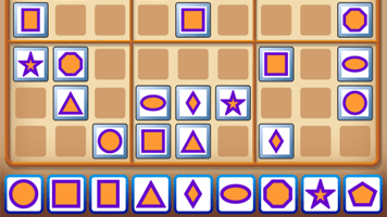 Shape Sudoku Puzzle - PrimaryGames - Play Free Online Games