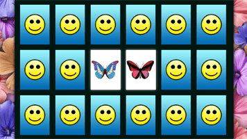 Butterfly Match Game Free Online Games At Primarygames