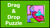 Dinosaur Drag & Drop Puzzle