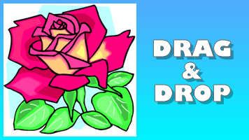Rose Drag & Drop Puzzle - PrimaryGames - Play Free Online Games