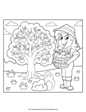 Fall Coloring Pages Printable Coloring Ebook Primarygames