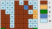 Autumn Alphabet Mosaics