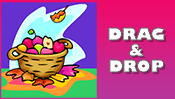 Fall Drag & Drop Puzzle