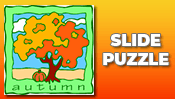 Autumn Slide Puzzle