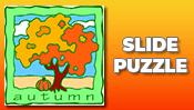 Autumn Slide Puzzle