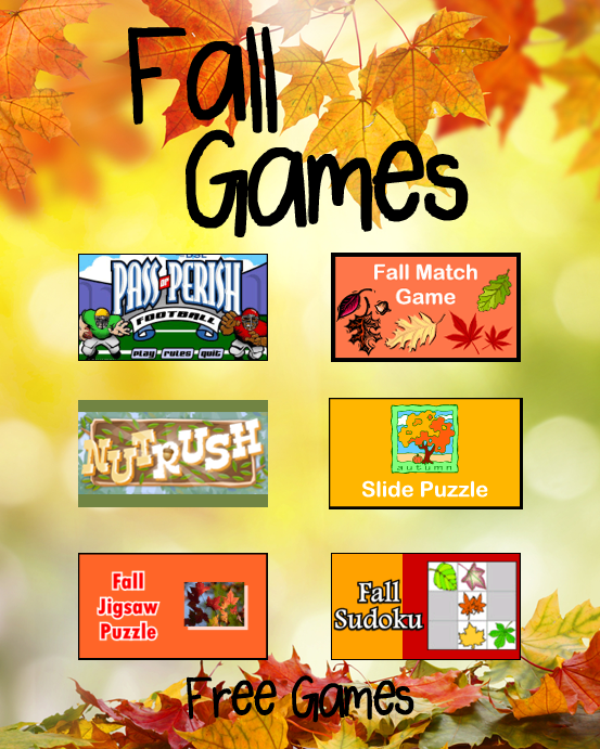 Fall Games PrimaryGames Play