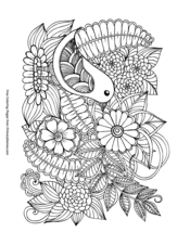 photo relating to Printable Spring Coloring Pages identified as Spring Coloring Webpages Printable Coloring e-book - PrimaryGames