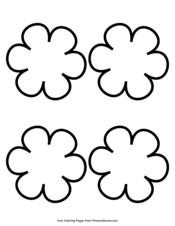 Simple Flower Pattern 4