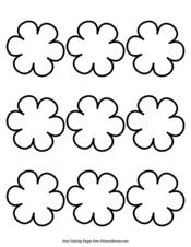Simple Flower Pattern 9