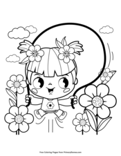 Spring Coloring Pages | Printable Coloring eBook - PrimaryGames