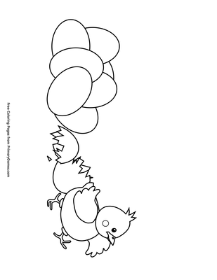 Coloring Pages. Father Penguin Looks At The Egg Stock Vector ... | 400x309