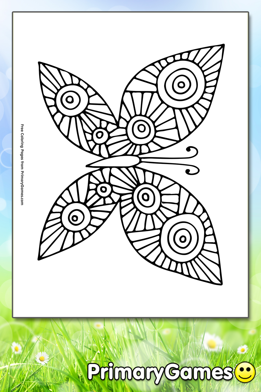 primary games coloring pages - photo#41