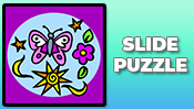 Butterfly Slide Puzzle