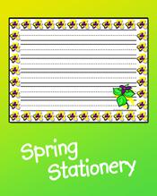Spring Stationery