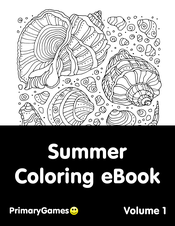 Summer Coloring eBook: Volume 1