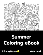 Summer Coloring eBook: Volume 4