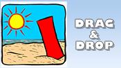 Summer Drag & Drop Puzzle