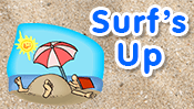 Surf's Up Maze Game