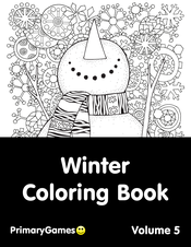 Wonderful Winter Coloring Page | crayola.com | 226x175