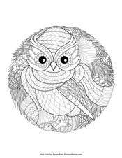 Winter Coloring Pages Free Printable Pdf From Primarygames