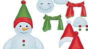 Decorate a Snowman