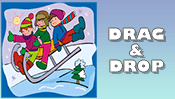 Winter Drag & Drop Puzzle